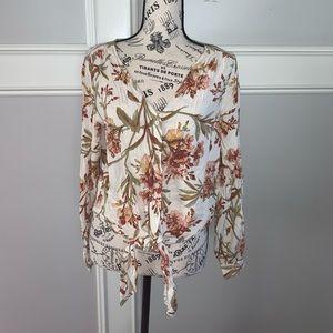 H & M floral top